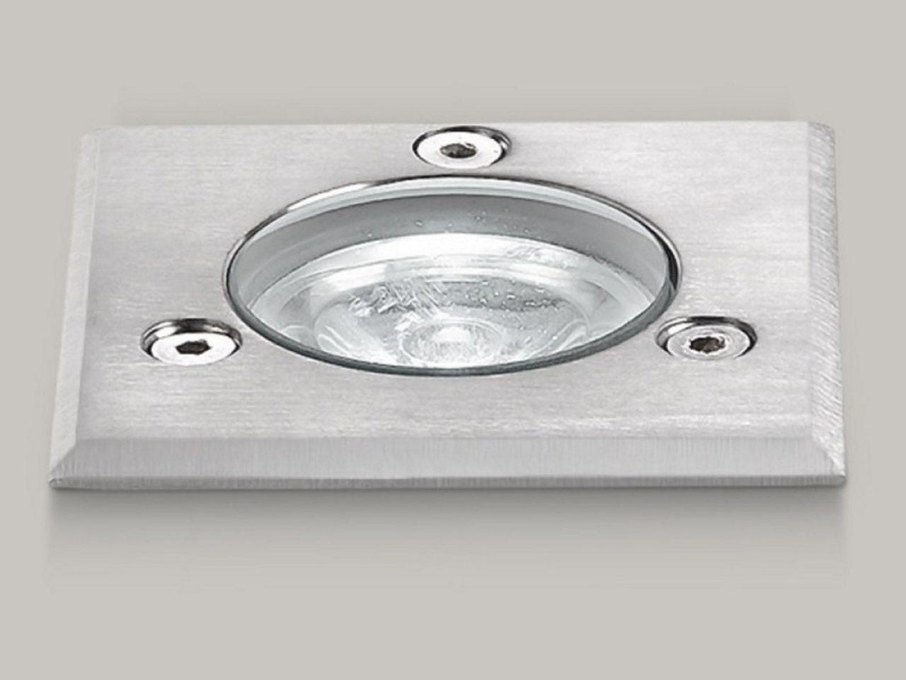 Ges gea luce · faretto ad incasso per esterno · luci e forme